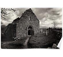 Ullard Church, near Graiguenamanagh, County Kilkenny, Ireland Poster