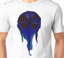 Frozen mushroom snow cone perched on the world Unisex T-Shirt