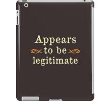 Appears To Be Legitimate iPad Case/Skin
