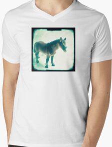 Little horse Mens V-Neck T-Shirt