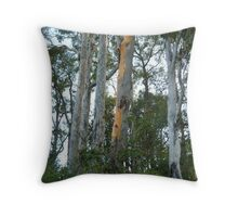 Tall Gums Throw Pillow
