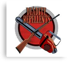 DEADITE REPELLENTS Canvas Print