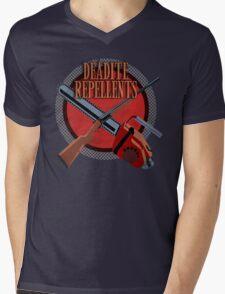 DEADITE REPELLENTS Mens V-Neck T-Shirt