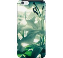 White lilies photograph iPhone Case/Skin