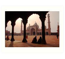 Jama Masjid, Delhi Art Print