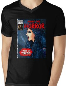 Journey into Horror Mens V-Neck T-Shirt