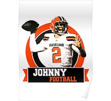 Johnny Football - Cleveland Browns Poster