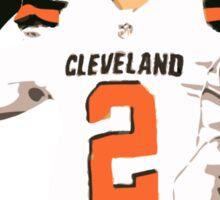 Johnny Football - Cleveland Browns Sticker