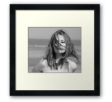 The wind is my friend Framed Print