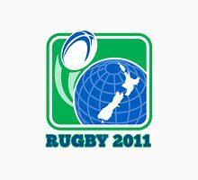 rugby new zealand map ball 2011 Unisex T-Shirt