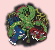 Rayquaza, Kyogre, & Groudon - Hoenn Remake Ahoy! Baby Tee