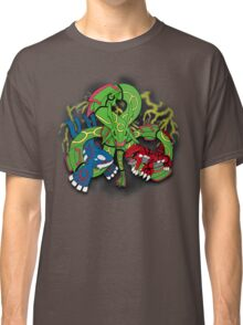Rayquaza, Kyogre, & Groudon - Hoenn Remake Ahoy! Classic T-Shirt