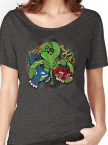 Rayquaza, Kyogre, & Groudon - Hoenn Remake Ahoy! Women's Relaxed Fit T-Shirt