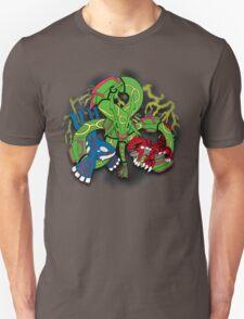 Rayquaza, Kyogre, & Groudon - Hoenn Remake Ahoy! Unisex T-Shirt