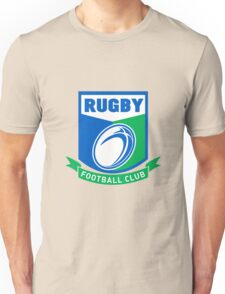 rugby ball and shield Unisex T-Shirt