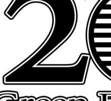520 Green Bullet Grill Sticker