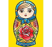 russian nesting doll Photographic Print