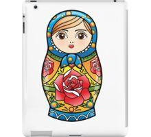 russian nesting doll iPad Case/Skin