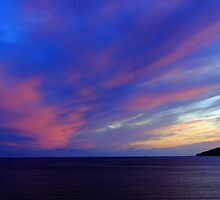 Colorful Skies Over Ballinskelligs Bay by aidan  moran