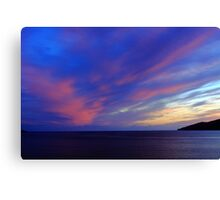 Colorful Skies Over Ballinskelligs Bay Canvas Print