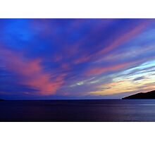 Colorful Skies Over Ballinskelligs Bay Photographic Print