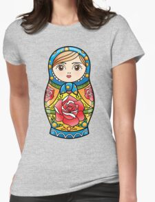 russian nesting doll Womens Fitted T-Shirt
