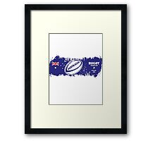 Australia Rugby World Cup Supporters Framed Print