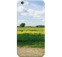 Yellow Fields iPhone Case/Skin