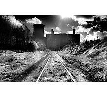 Abandoned Powerstation, Co Kildare, Ireland. Photographic Print