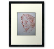 #45 Mrs Doubtfire Framed Print