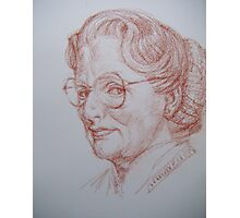 #45 Mrs Doubtfire Photographic Print