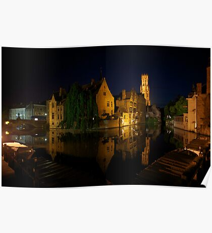 Night in Bruges Poster