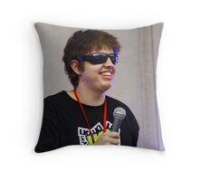 Frontman Throw Pillow
