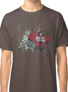 the jet and the microscope Classic T-Shirt