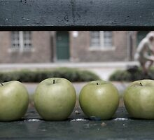 Four Apples by Laurence Manly