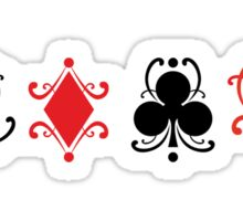 Playing Cards Sticker