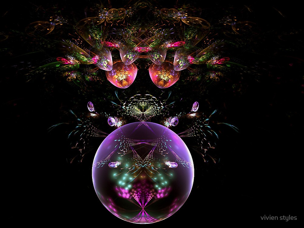Flowering Orb by vivien styles