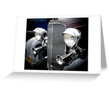 The Chevrolet. Greeting Card