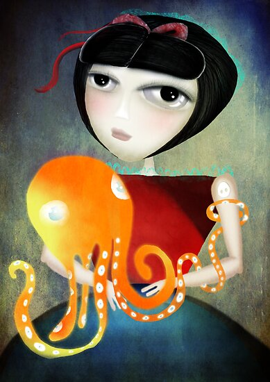 Hold on a little more octopus by Ruth Fitta-Schulz