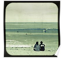 Watching the Surf Poster