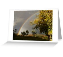 Tuscany Rainbow Greeting Card