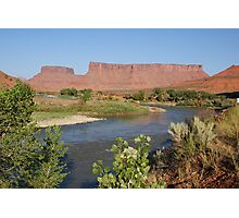 Red River Rocks Photographic Print