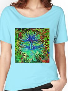 Psychedelic Sunshine Women's Relaxed Fit T-Shirt