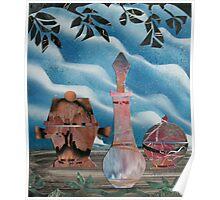 Mosaic Flea Market Poster