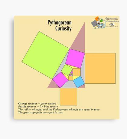 Pythagorean Curiosity Canvas Print