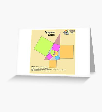 Pythagorean Curiosity Greeting Card