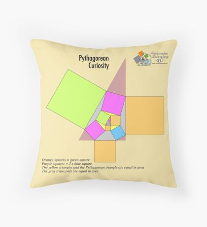 Pythagorean Curiosity Throw Pillow