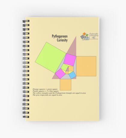 Pythagorean Curiosity Spiral Notebook