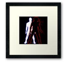 The Demon Comes - Finn Balor Framed Print