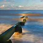 ROSSALL GROYNE - COLOUR by Phil  WEBB